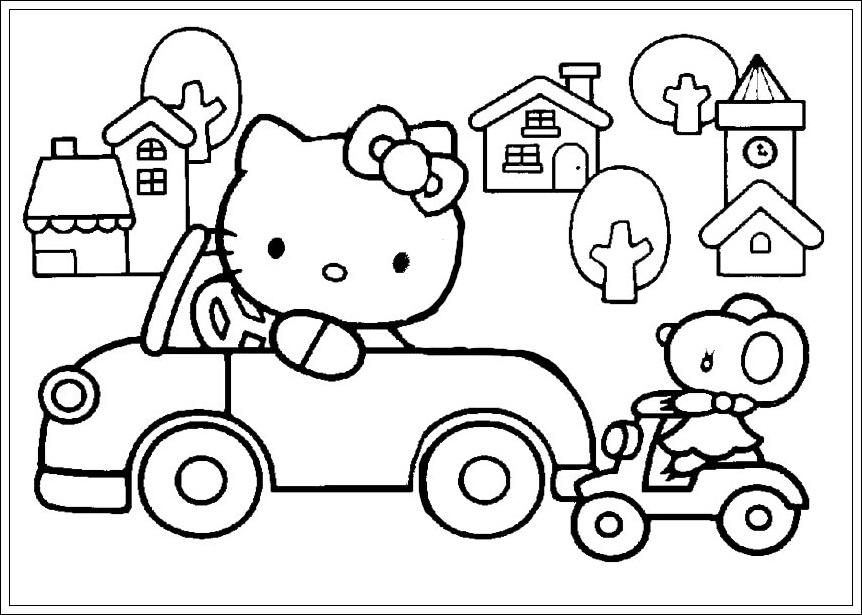 Hello Kitty Malvorlagen Din A4 Kostenlos ~ Die Beste Idee Zum ...