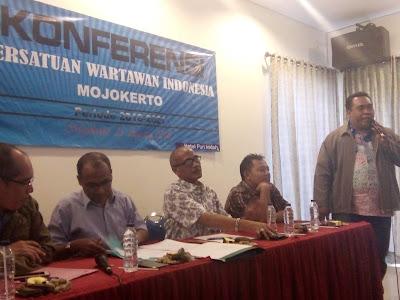 Konferensi PWI Mojokerto, Diak Eko Purwoto Ketua PWI Mojokerto Terpilih
