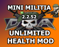 Mini Militia Invisible Man Hacked Apk