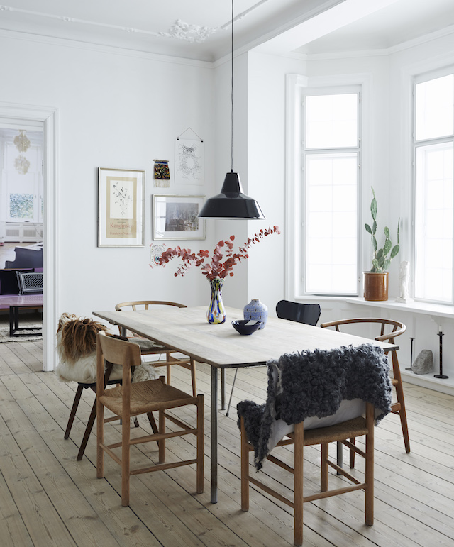 32 More Stunning Scandinavian Dining Rooms: My New Book: The Scandinavian Home
