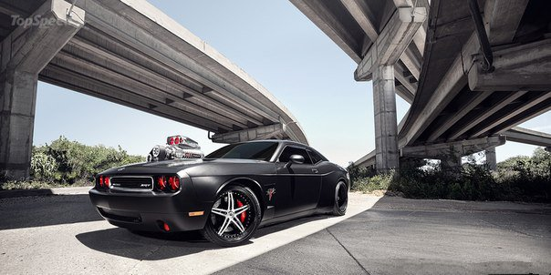 The Dodge Challenger SRT8