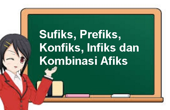 15 Contoh Afiks: Sufiks, Prefiks, Konfiks, Infiks dan Kombinasi Afiks