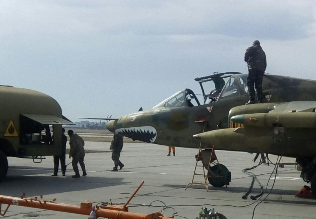 Штурмова авіація відпрацювала ураження повітряних цілей - протидію ворожим винищувачам