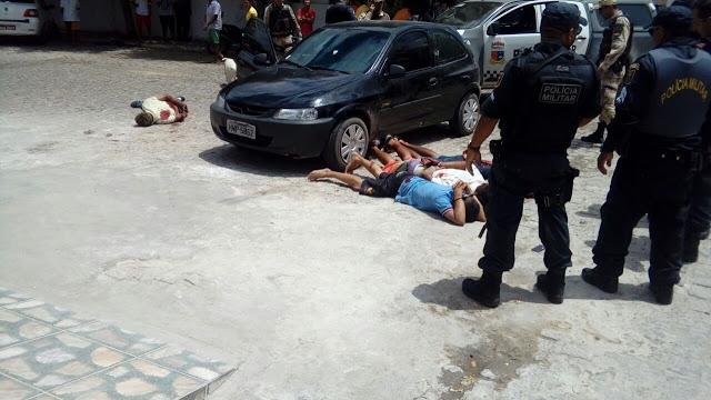 Resultado de imagem para quatro bandidos baleados em currais novos