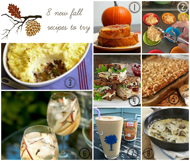My Favorite Things: 8 Fall Recipes I Can't Wait To Try