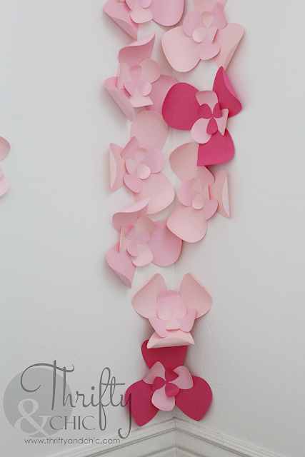 3D Flower Wall Art cute idea for a nursery!