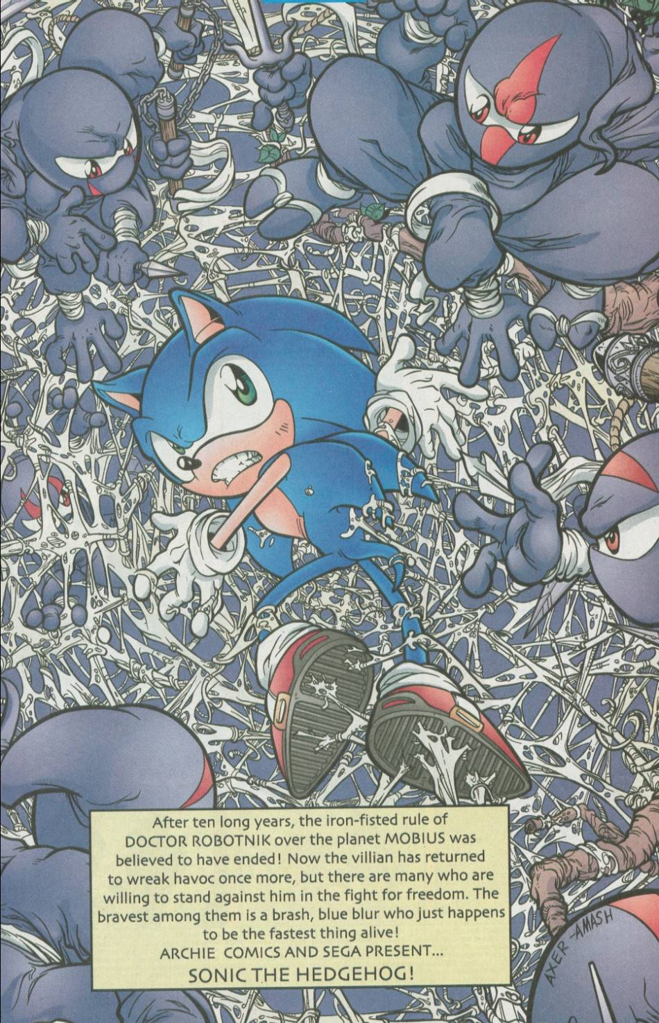 Read online Sonic The Hedgehog comic -  Issue #111 - 2