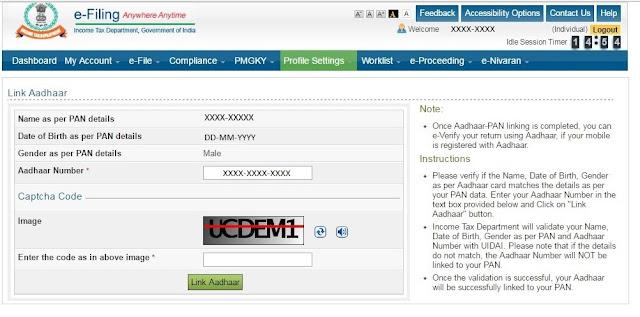 Is it mandatory for NRI to link their Aadhaar to PAN card