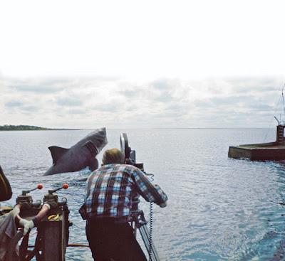 Tiburón detrás de las cámaras