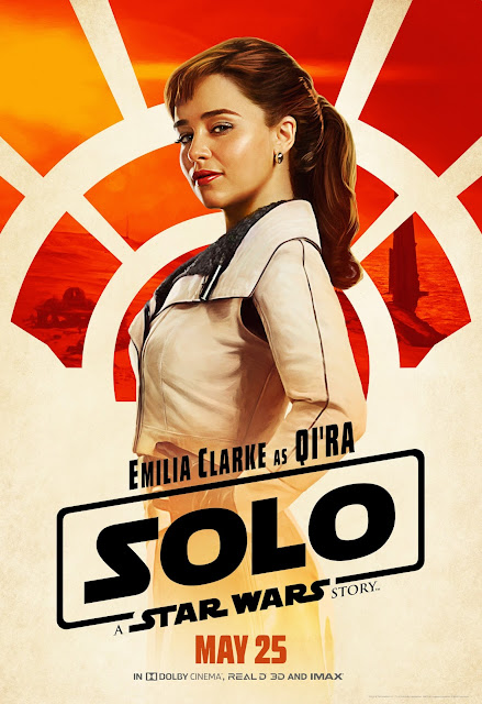 "Exclusive interview with Emilia Clarke ""Qi'ra"" from Solo: A Star Wars Story #HanSoloEvent #HanSolo"