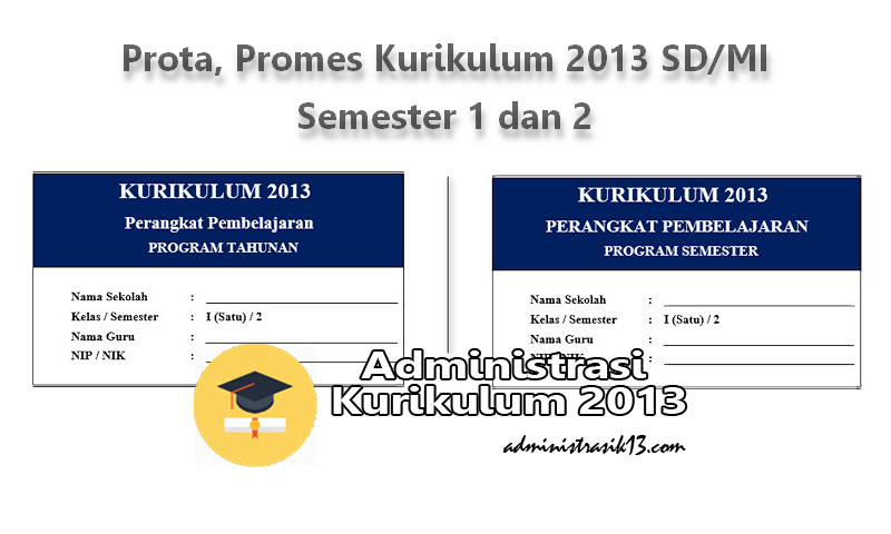 Download Prota Promes Kurikulum 2013 Sd Mi Semester 1 Dan