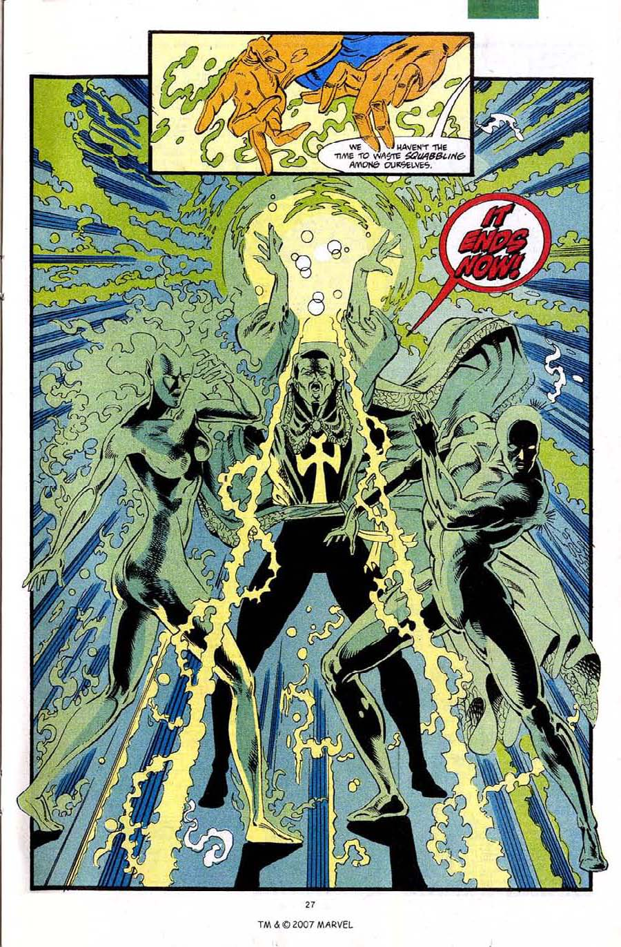Read online Silver Surfer (1987) comic -  Issue #67 - 29