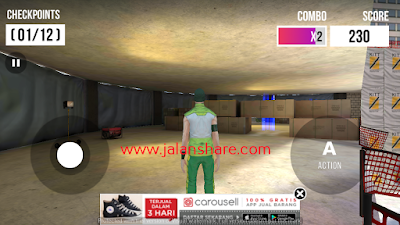 Free Download Parkour Simulator 3D Mod Apk Terbaru Full Version For Android
