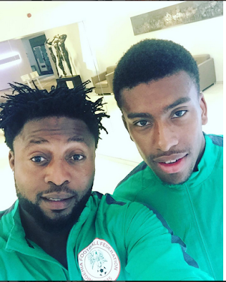 Eagles Midfielder, Raheem Lawal Shares A Laughable Throwback Photo Of Himself