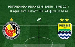 Semen Padang vs Persib