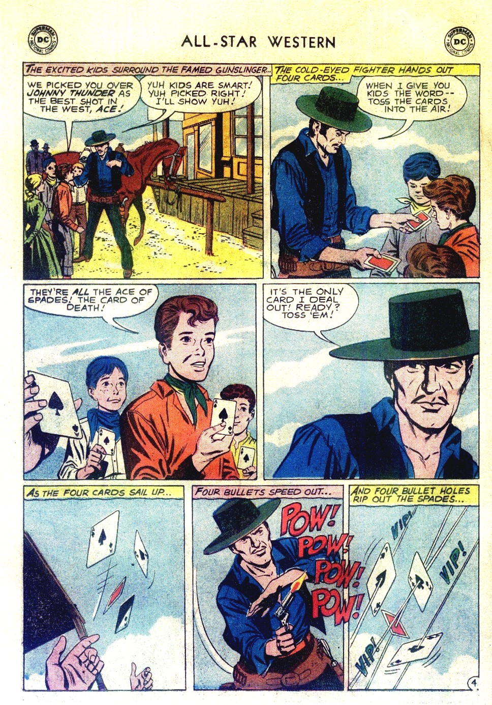 Read online All-Star Western (1951) comic -  Issue #111 - 6