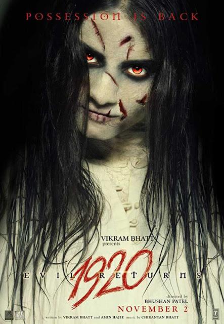 Poster 1920: Evil Returns 2012 Full Movie Download Hindi HD 720p