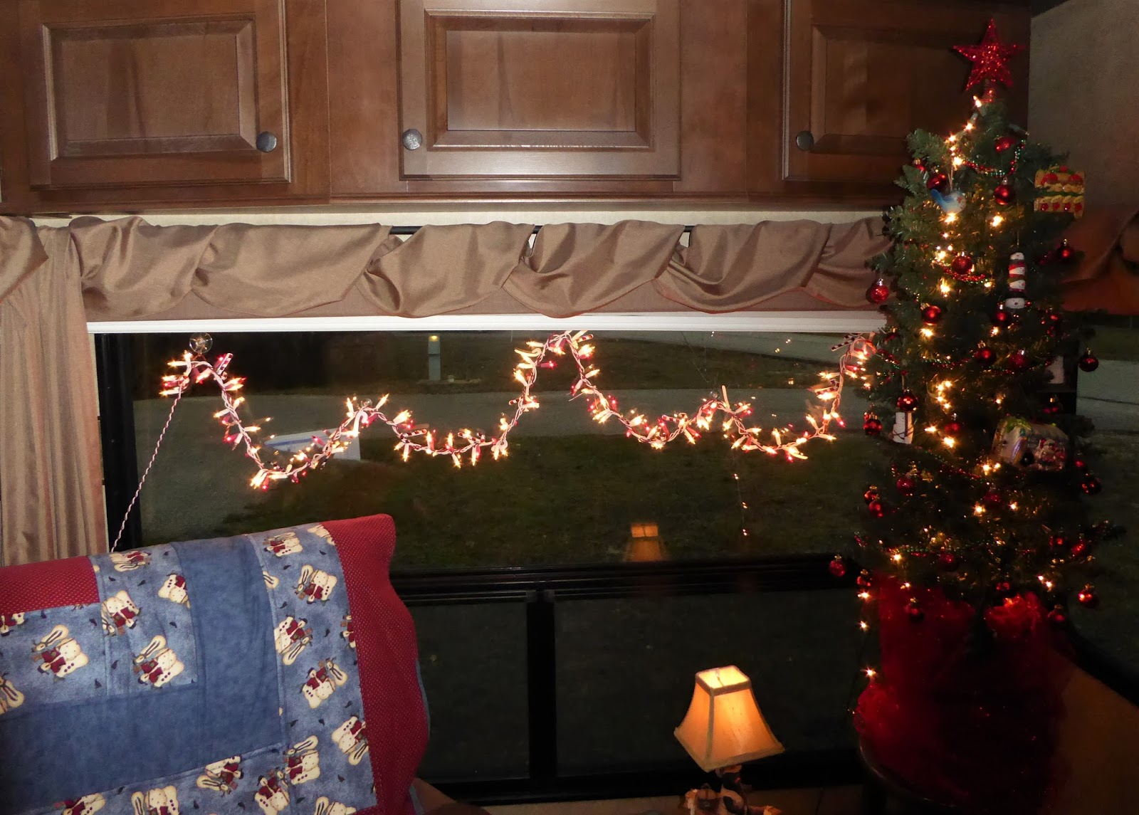 here are a few pictures of decorations inside our fifth wheel i have more this is just a sample