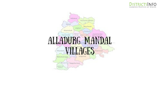 Alladurg mandal with vilages