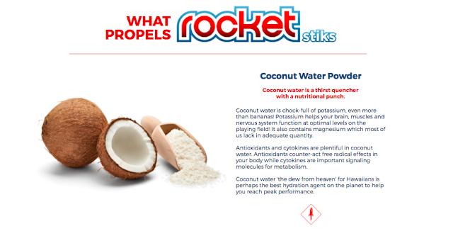 Rocket Stiks Sports Drink- M Network Kids Hydration Stiks