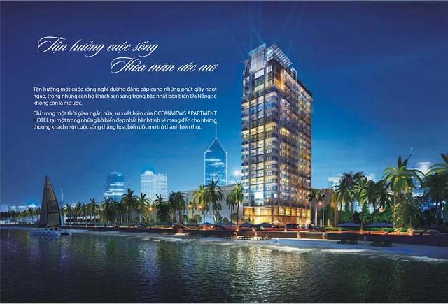 Căn hộ khách sạn cao cấp 4 sao Ocean View Apartment Hotel - Đà Nẵng