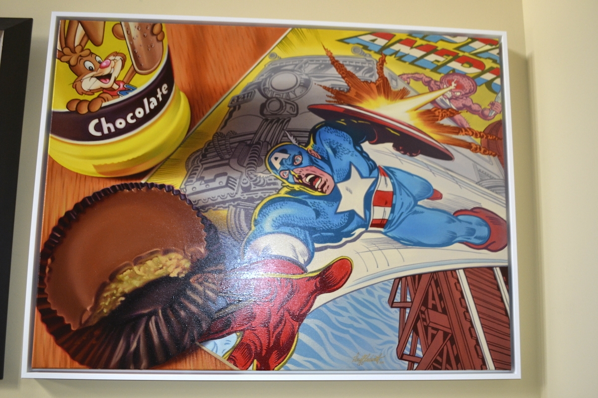 05-Captain-America-and-Nesquik-Doug-Bloodworth-Vintage-Comics-in-Hyper-Realistic-Painting-www-designstack-co