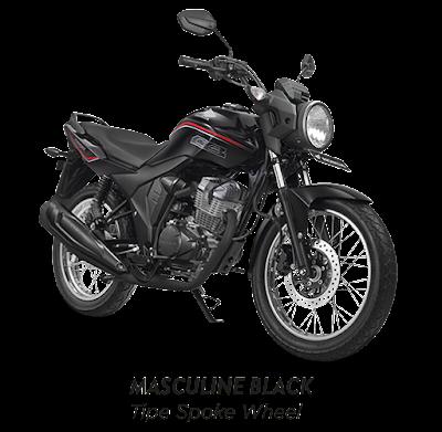 Honda Verza SW Bold Black  - Honda Sejahtera Mulia Motor Cirebon