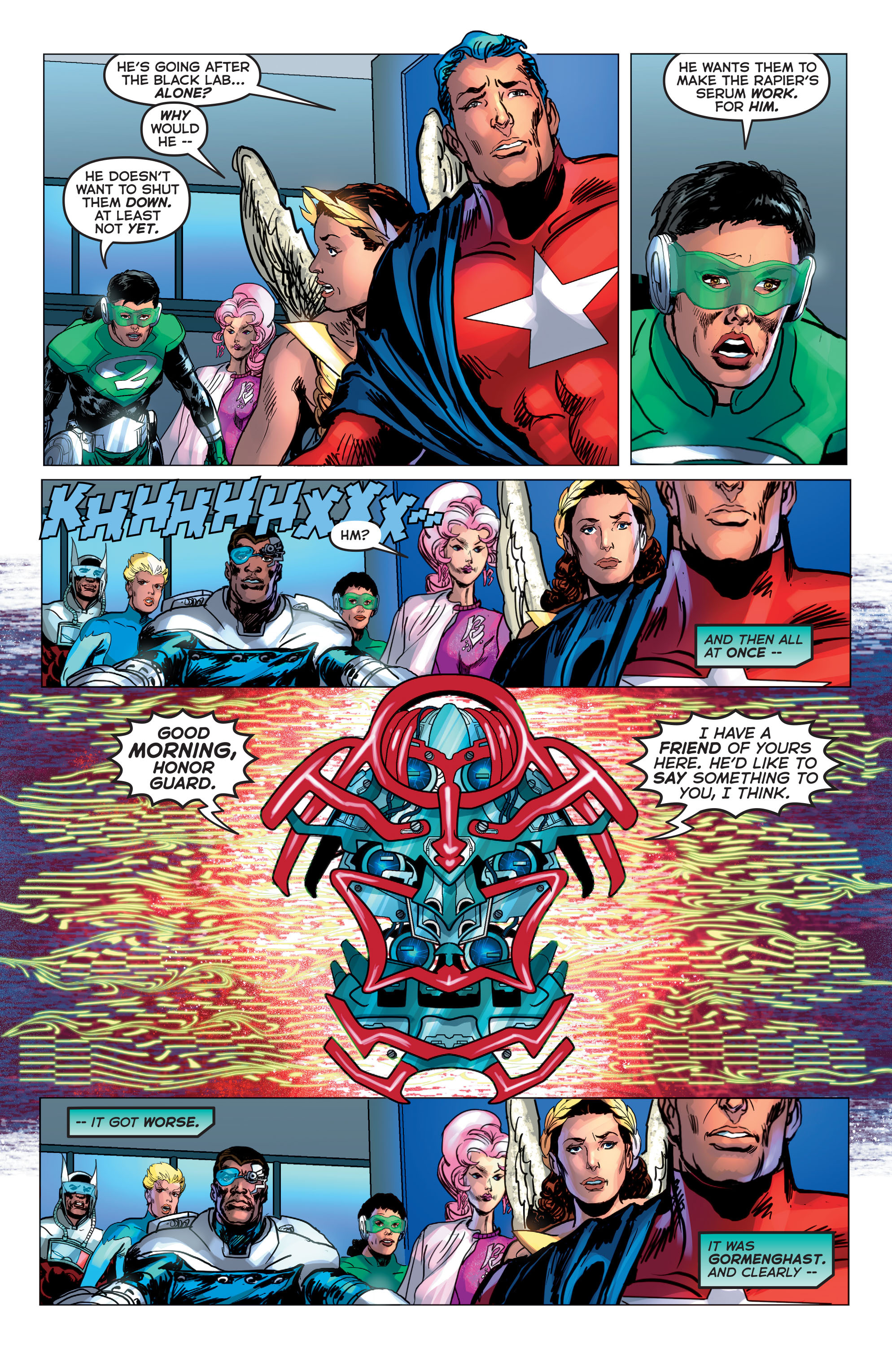 Read online Astro City comic -  Issue #20 - 23