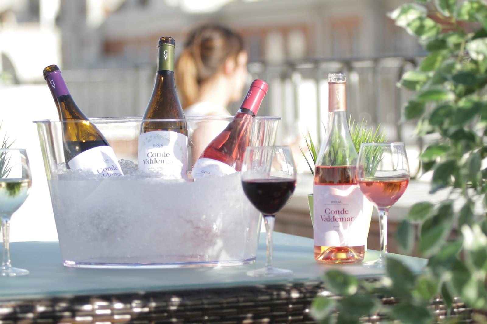 Marida tus planes de verano con los vinos jóvenes de Conde Valdemar