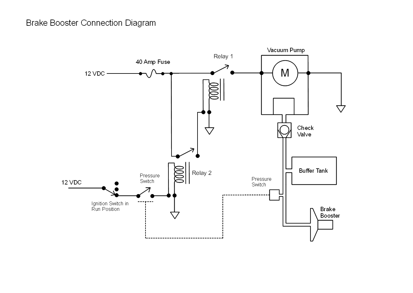 Booster Pump Wiring Diagram