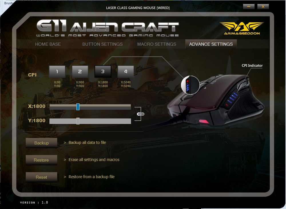 Unboxing & Review: Armaggeddon G11 Alien Craft Gaming Mouse 81