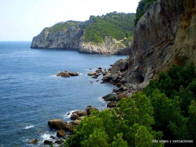 Camino de Ronda, Costa Brava