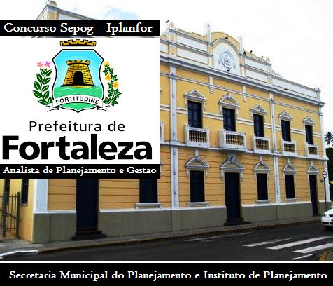 Apostila concurso Sepog Iplanfor de Fortaleza 2016