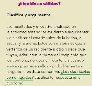 Respuestas Apoyo Primaria Ciencias Naturales 4to Grado Bloque III Tema 1 Características de los estados físicos y sus cambios