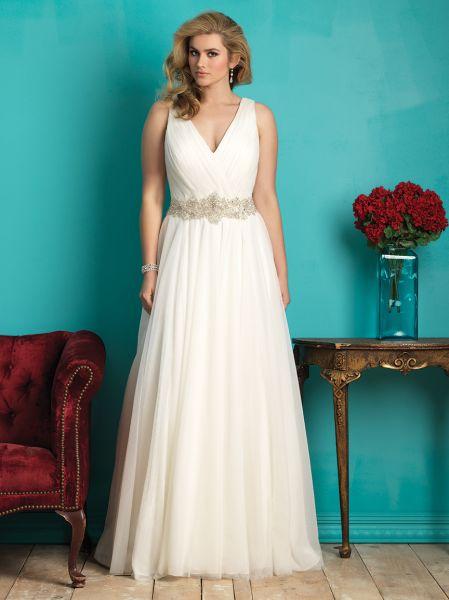 vestidos de novia para gorditas y bajitas