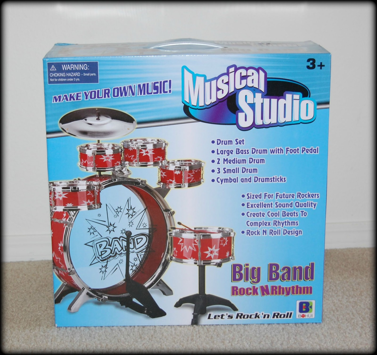 Temporary Waffle Velocity Toy S 11 Piece Children S Musical Drum