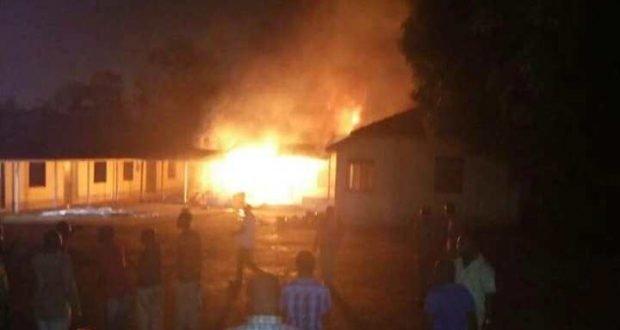 Photos: Fire guts facilities at GBC
