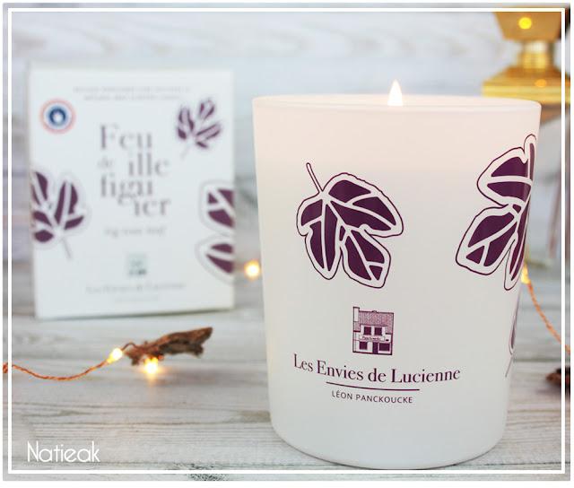 Bougies Parfumées feuille de figuier de Les envies de Lucienne par  Léon Panckoucke