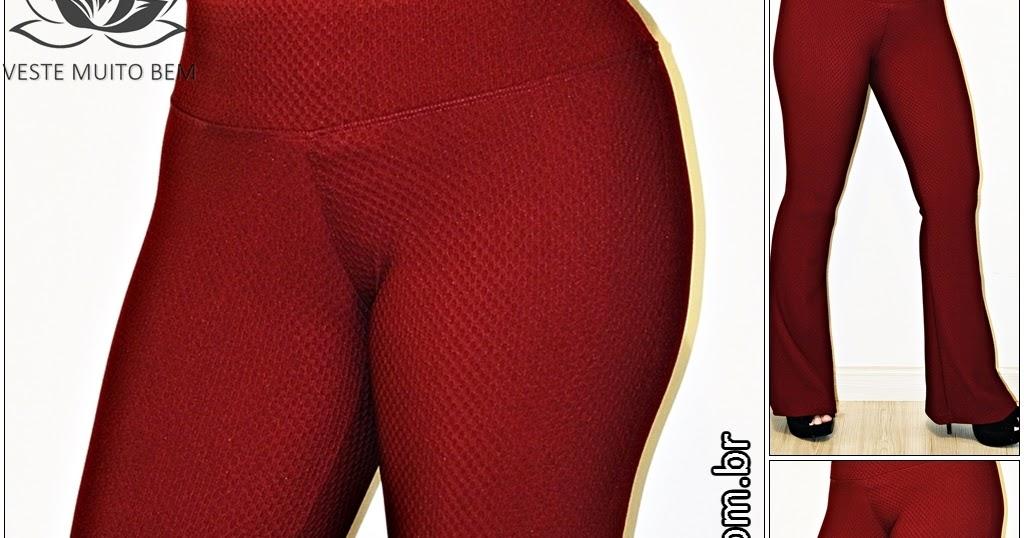 9e07b156c Combina com todo o tipo de corpo! - Calça Flare Piquet Bordô - Moda em Roupa  Feminina, Veste Muito Bem #modafeminina #lookdodia #estilo #moda #roupas # modas ...