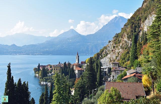 Varenna en Lago di Como, Italia