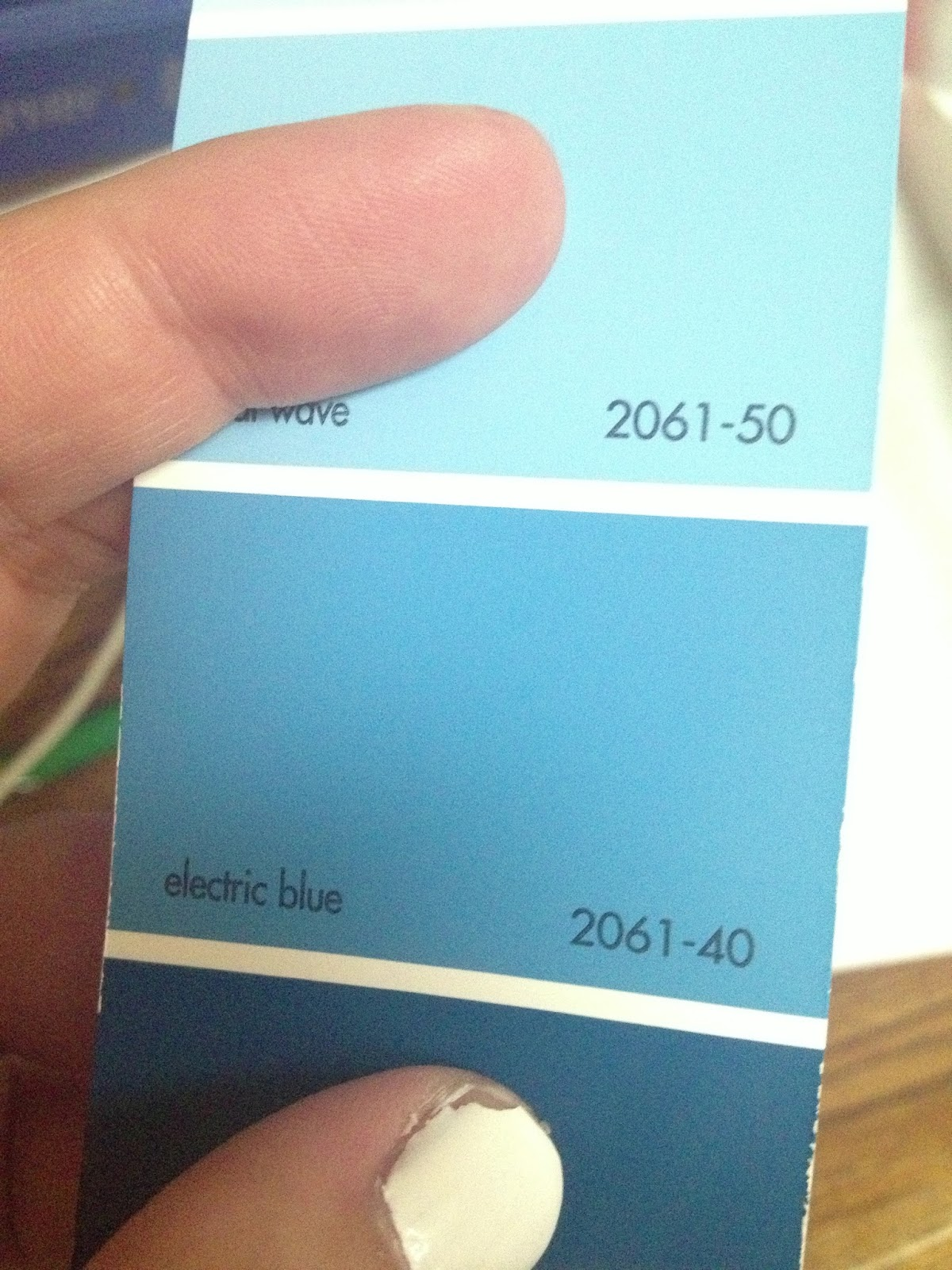The Grand Decision Came Down To Benjamin Moore Electric Blue