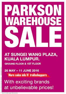 Parkson Warehouse Sales