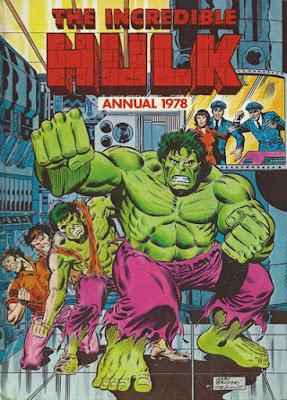 Marvel UK, Incredible Hulk Annual 1978