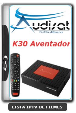 Audisat K30 Aventador Nova Atualização Correção SKS 61w V2.0.53 - 25/06/2020
