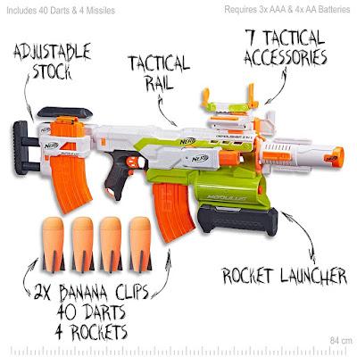 các mẫu súng Nerf Modulus tháo lắp 7
