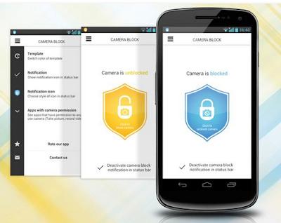 برنامج حماية كاميرا هاتف الاندرويد من التجسس والاختراق