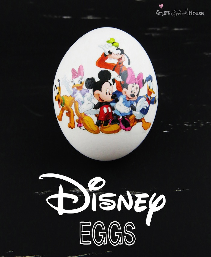 DISNEY DECORATED EGGS