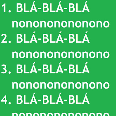 Seis motivos pelos quais não gosto de listas