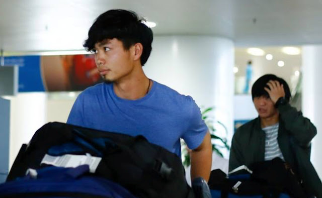 Công Phượng, Tuấn Anh trục trặc hành lý tại sân bay
