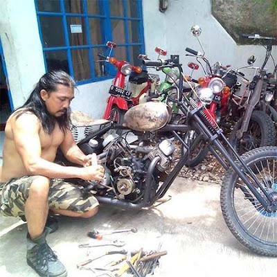 Dedy Ilyas dan Motor Harley